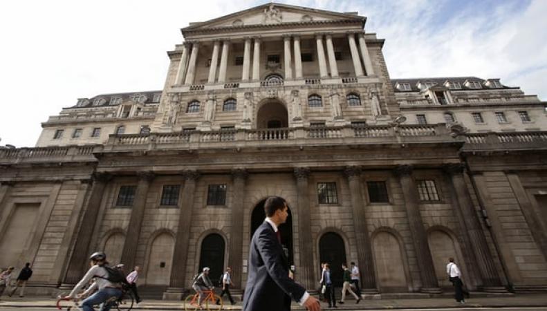 Банк Англии объявил решение по процентной ставке