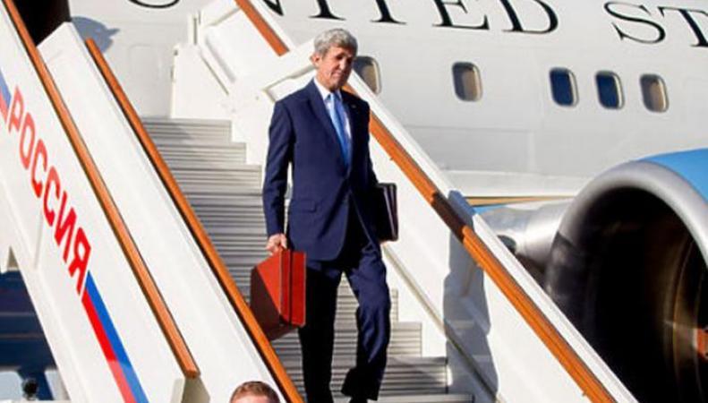 Джон Керри и чемодан