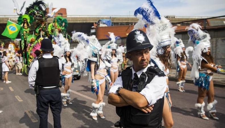 Скотланд-Ярд использует технологию распознавания лиц на карнавале в Ноттинг-Хилле фото:theguardian