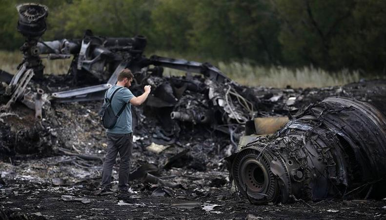 Сбитый Боинг над Украиной