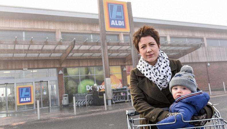 Разгневанная британка заявила, что тележки в Aldi опасны для детей