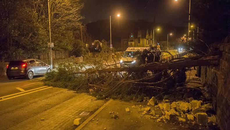 Британия пострадала от ураганных ветров: ущерб колоссален