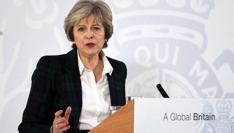 Премьер Великобритании прибыла вБелый дом для переговоров сТрампом