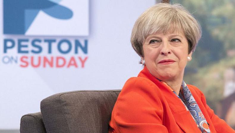 Британский премьер-министр в воскресном интервью на телевидении