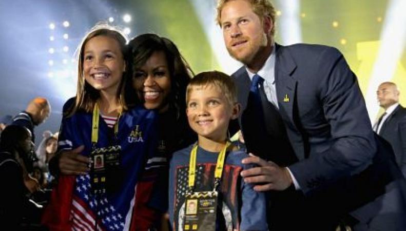 Мишель Обама и принц Гарри открыли соревнования Invictus Games