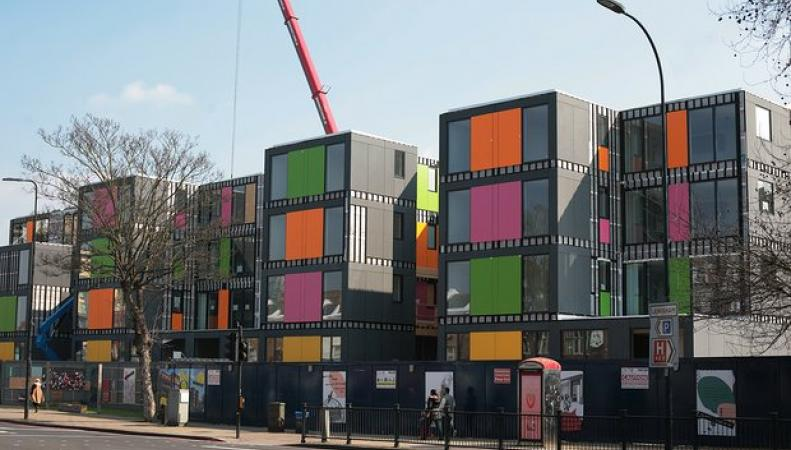 На юго-востоке Лондона построят первый временный городок для нуждающихся в жилье фото:theguardian.com