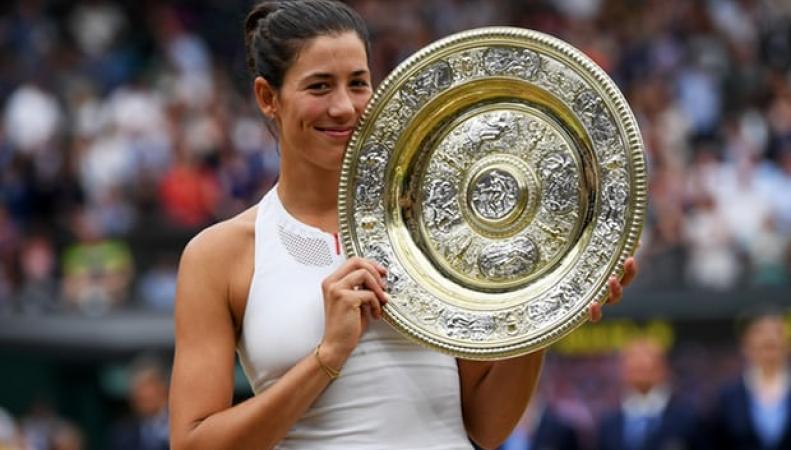 Испанская теннисистка блестяще завершила женский финал Уимблдона фото:theguardian