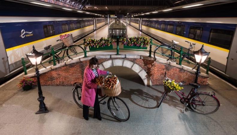Eurostar добавит новые поезда из Лондона в Амстердам