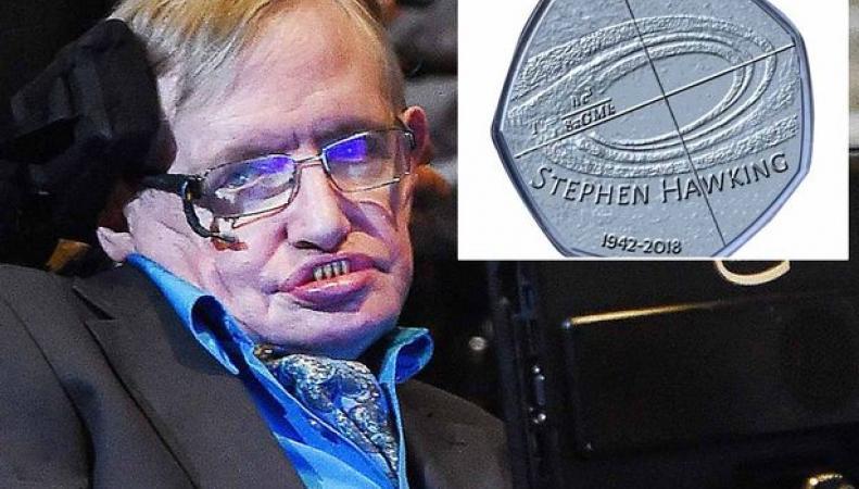 Royal Mint почтит память Стивена Хокинга выпуском пятидесятипенсовой монеты
