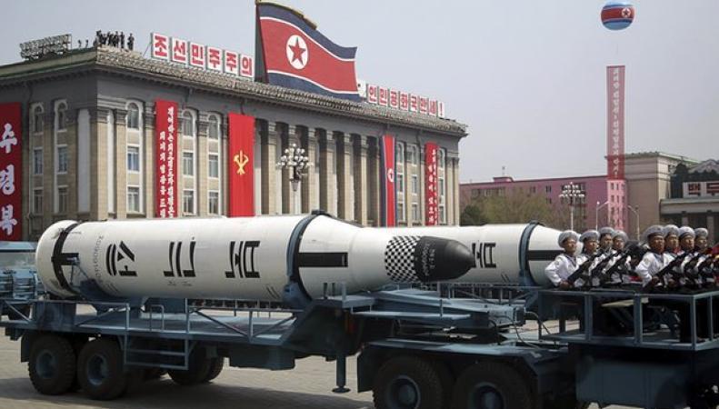 Ядерная агрессия Северной Кореи финансируется из Лондона фото:theguardian
