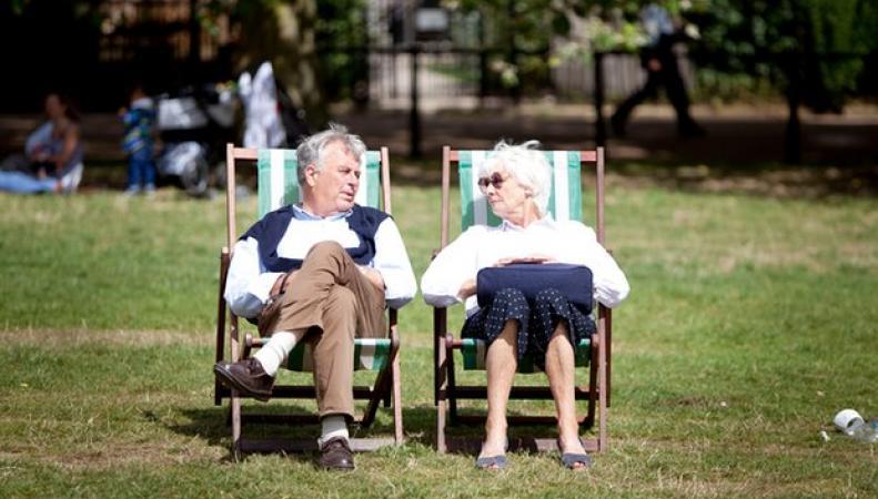 Двухнедельный прогноз погоды в Великобритании: Синоптики грозят жарой и грозами фото:theguardian.com