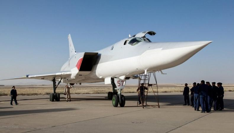 Российский бомбардировщик Ту-22М3