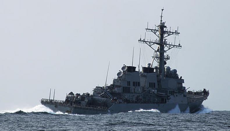 Эсминец  Porter в Черное море