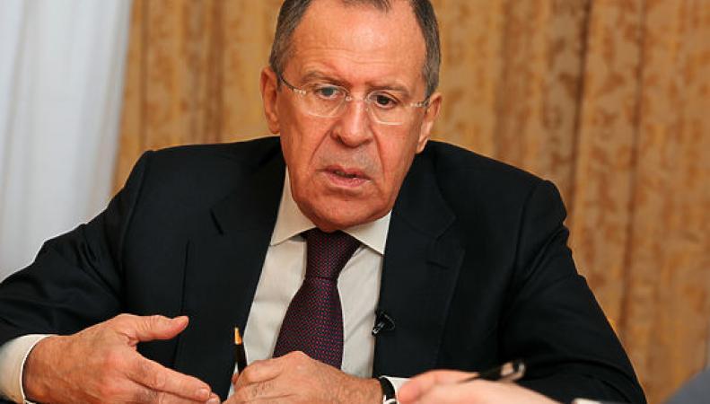 """Лавров назвал """"ловлей блох"""" реакцию Госдепа"""