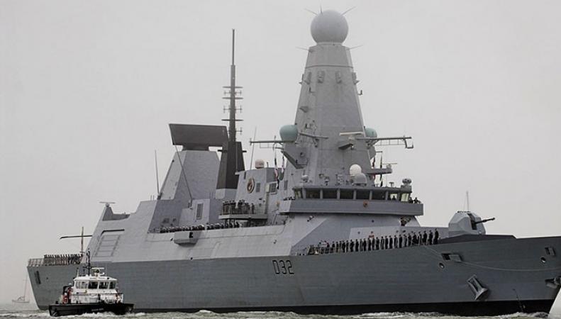 Выявлены серьезные недостатки у британских эсминцев