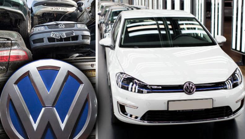 Volkswagen повысит ставку в британской программе утилизации дизельных авто фото:express