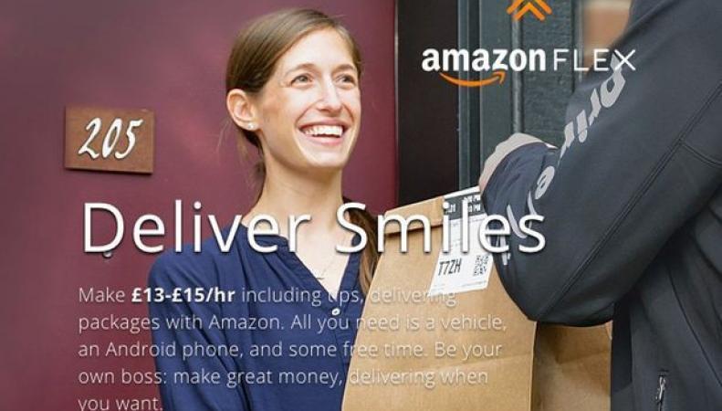 Amazon UK готов платить своим клиентам по 15 фунтов в час фото:getsurrey