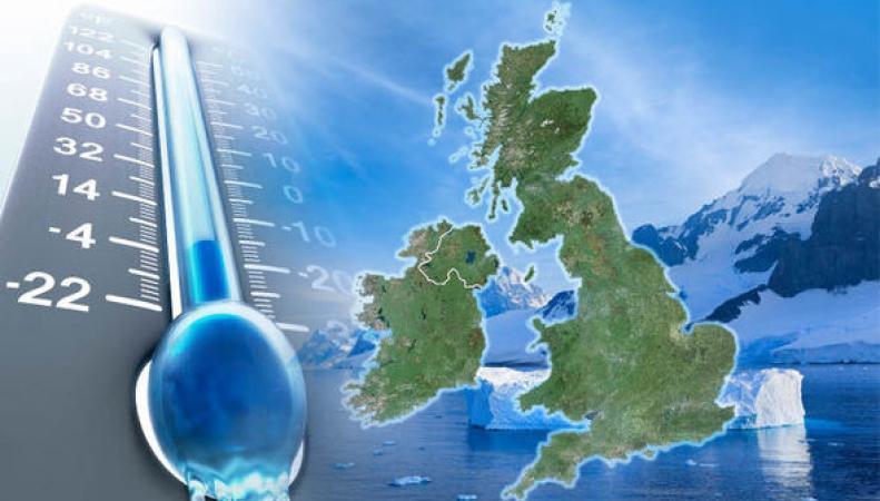 Британию снова охватит зима