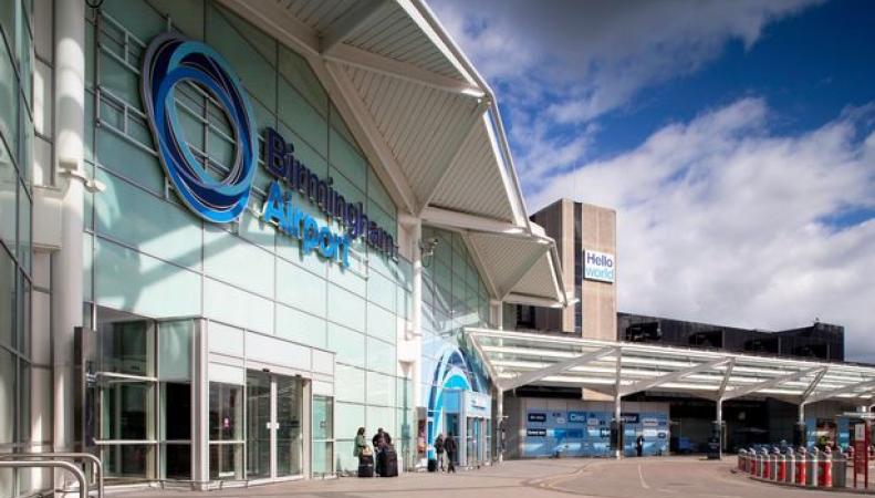 Аэропорт Бирмингема был закрыт ради приема аварийного самолета