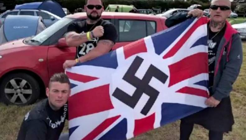 Неонацисты провели собрание в Кембридже под видом благотворительного мероприятия фото:belfasttelegraph.co.uk