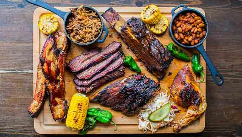 Где пожарить барбекю в Лондоне фото:globalblue.com