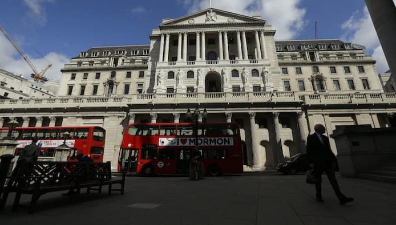 Банк Англии примет решение о судьбе учетной ставки фото:ft.com