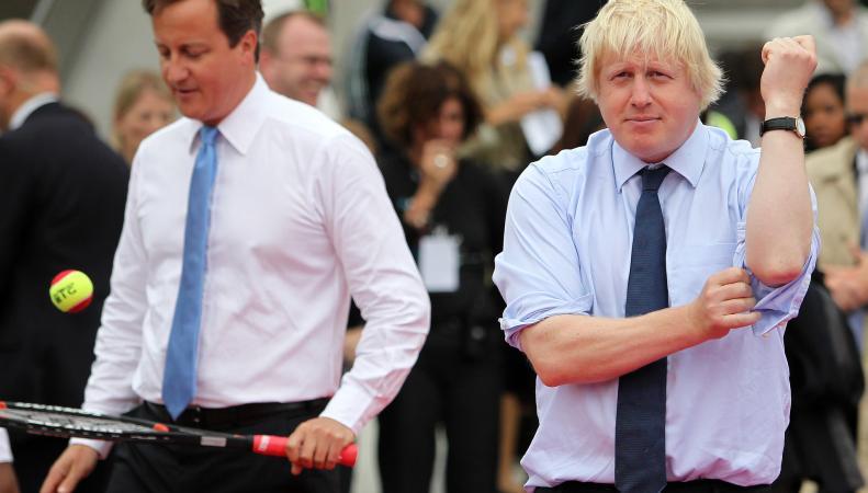 Джонсону припомнили игру в теннис за деньги с женой российского чиновника