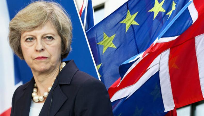 Евросоюз применит тактику психологического давления при запуске Брекзита фото:express.co.uk