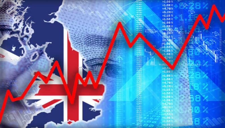 Британская экономика продемонстрировала ускоренный рост под конец 2017 года