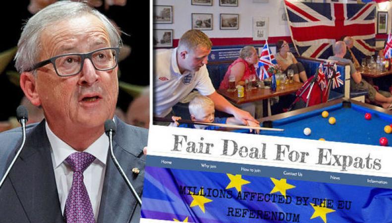 Оставьте диктаторские замашки! – Британские экспаты намерены судиться с Юнкером фото:express.co.uk