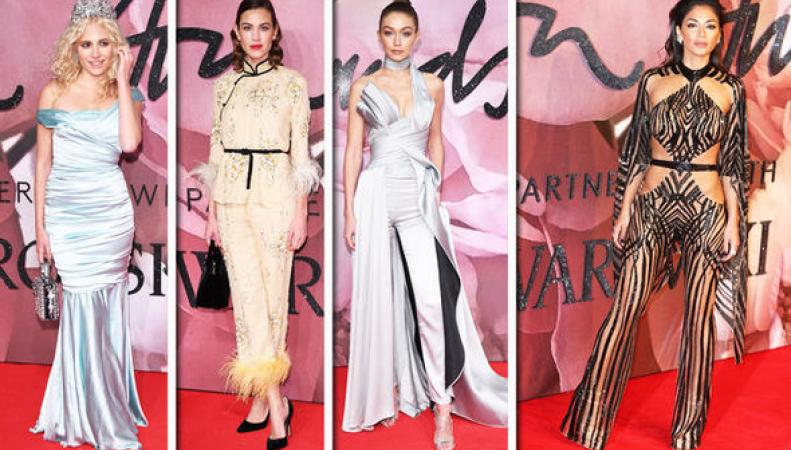 British Fashion Awards 2016