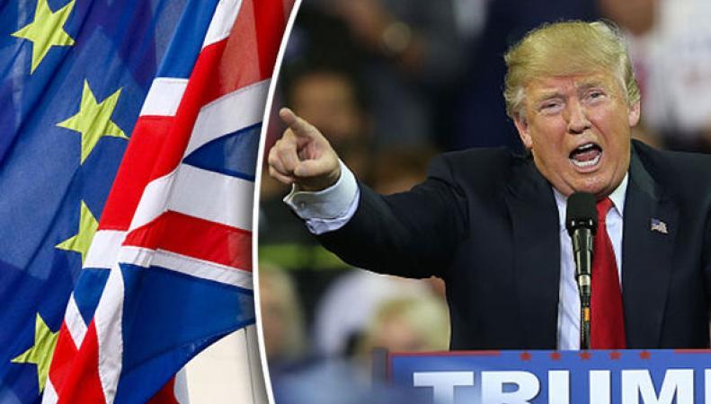 Трамп и Брекзит – зеркальное отражение настроений в обществе фото:expess.co.uk
