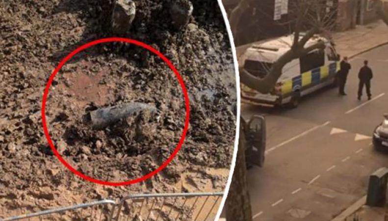 Вмолодежном районе Лондона найдена бомба