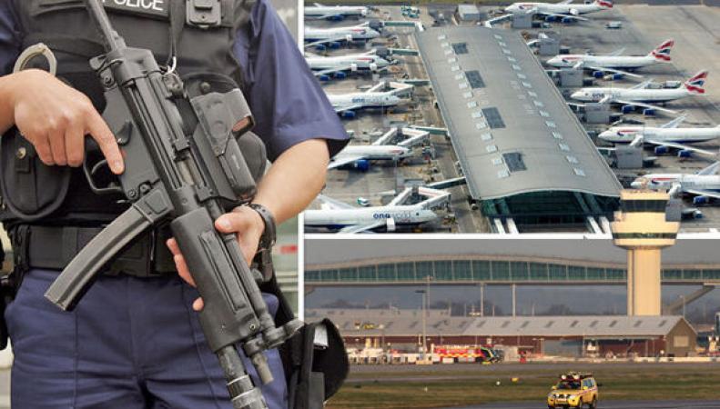 Усиление охраны аэропортов после терактов в Брюсселе