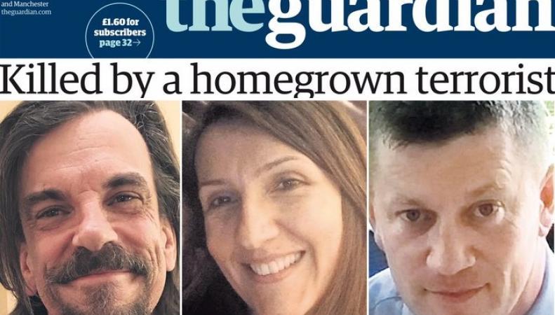 Теракт в Лондоне: Число жертв увеличилось, названо настоящее имя террориста фото:theguardian.com