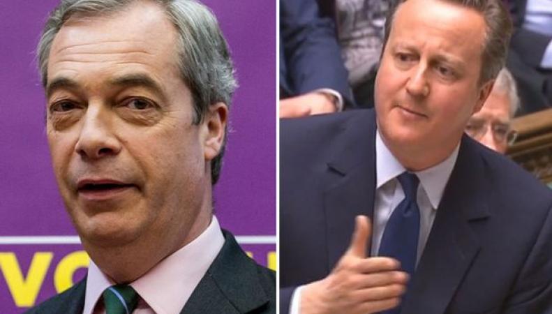 Кэмерон заочно оскорбил ключевого оппонента в споре по выходу из ЕС фото:mirror.co.uk