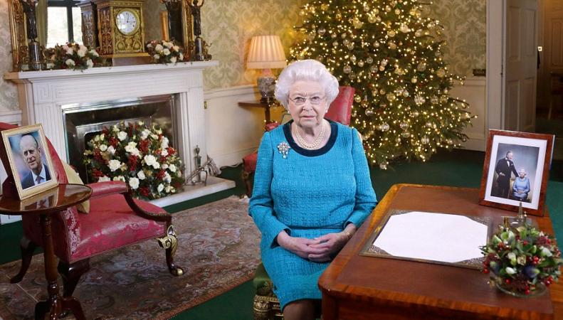 Королева Елизавета II посвятила свою рождественскую речь невоспетым героям фото:dailymail.co.uk