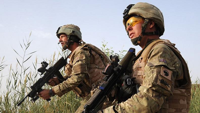 Впроцессе учений навоенной базе вШотландии умер британский военный