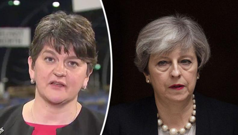 Ирландские юнионисты назвали консерваторам цену своей лояльности  фото:express
