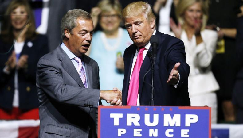 Найджел Фараж переедет в США в случае победы Трампа фото: the new yorker
