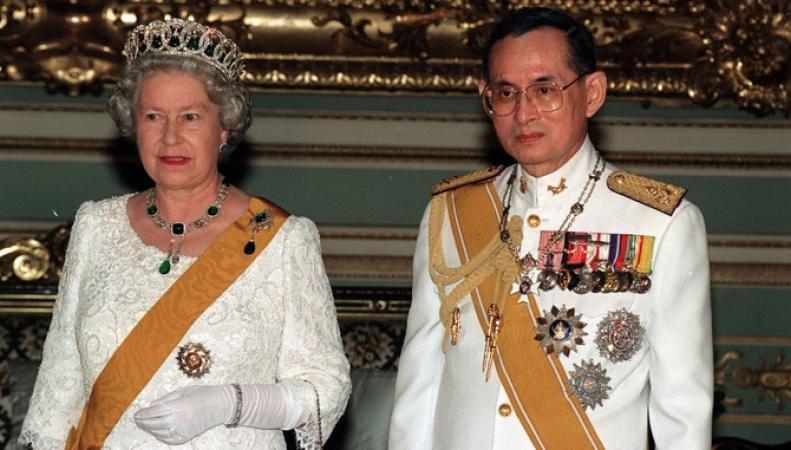Королева Елизавета II стала самым долгоправящим монархом на планете фото:ITV