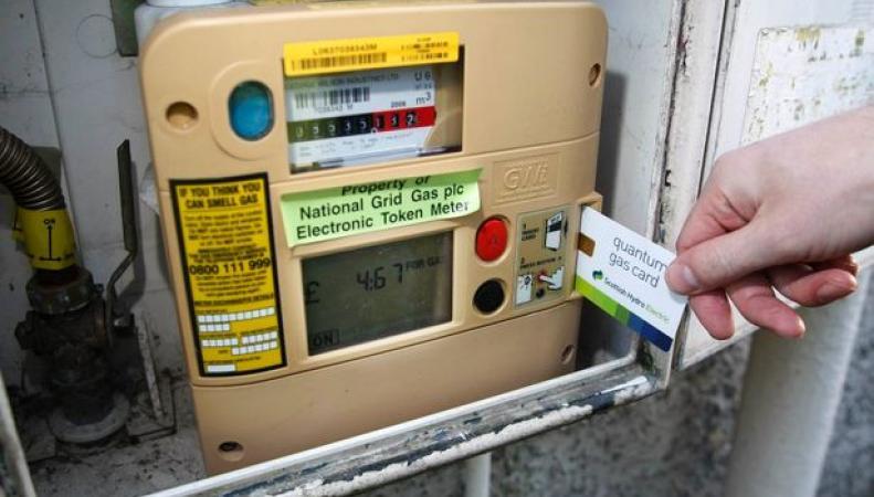 В Великобритании ограничат предельный размер списания по предоплатным счетчикам энергопотребления фото:mirror.co.uk