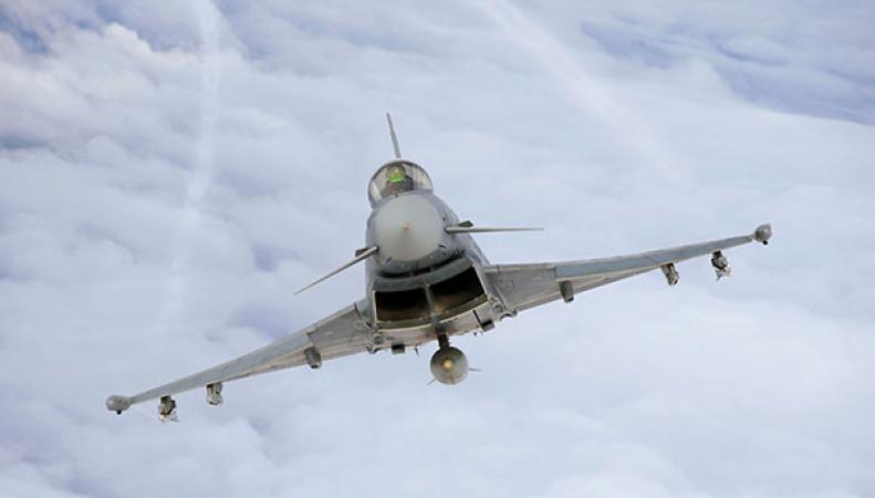 Истребители из Великобритании на учениях НАТО