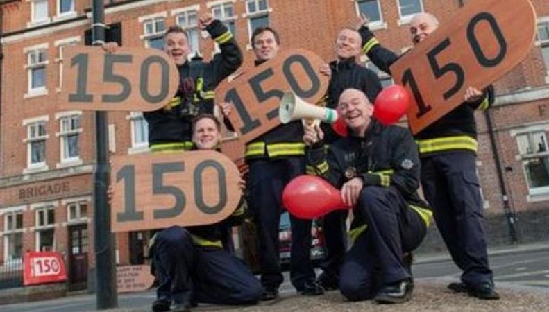 Пожарная служба Лондона начинает серию Дней открытых дверей по случаю юбилея фото:getwestlondon.co.uk
