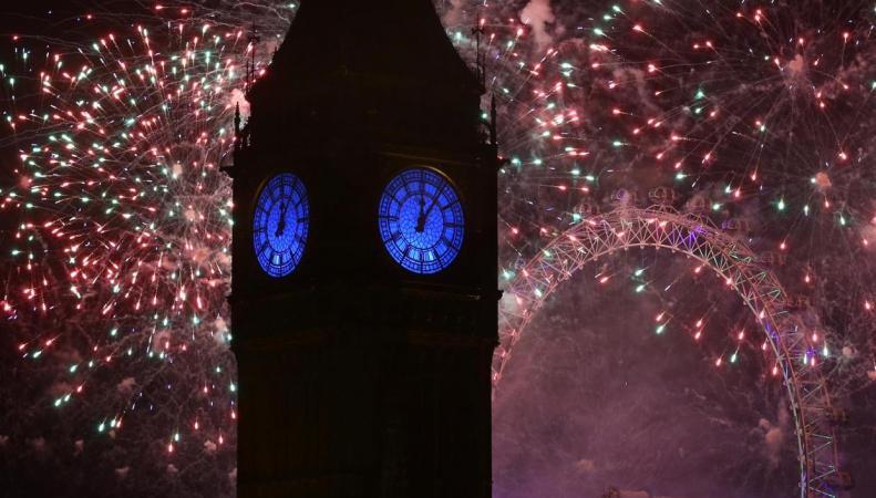 Би-Би-Си проведет панорамную трансляцию главного фейерверка в Лондоне  фото:independent.co.uk