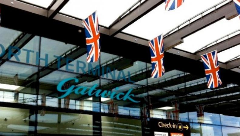 Аэропорт Гатвик закрыт