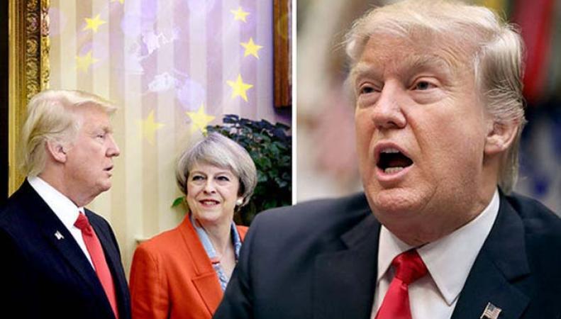 Европейские политики заявили, что Трамп использует Британию, чтобы разрушить ЕС