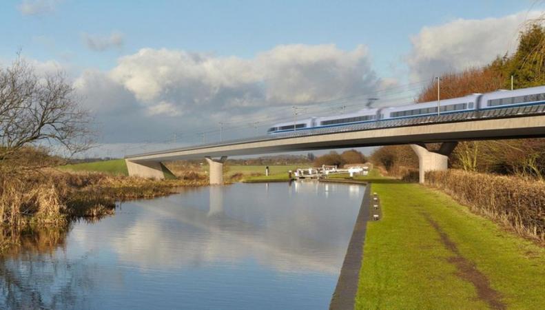 Британское правительство объявило конкурс на производство поездов для скоростной линии HS2 фото:bbc