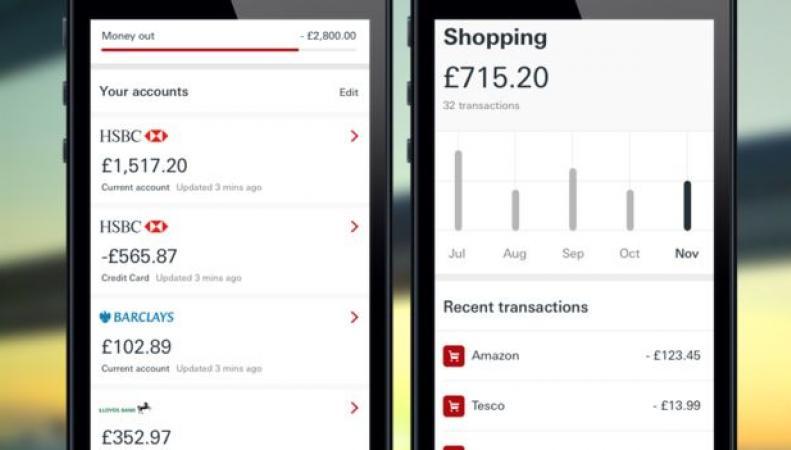 Мобильное приложение банка HSBC поможет собрать под контроль все личные финансы фото:BBC