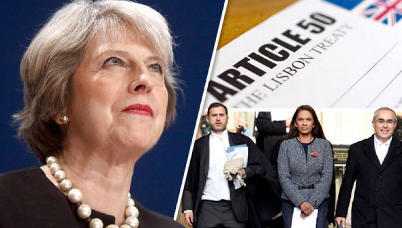 Решение суда о голосовании по Brexit в Палате общин будет оспорено в декабре фото:DailyExpress